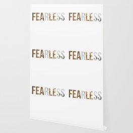 Fearless Motivation Design Wallpaper
