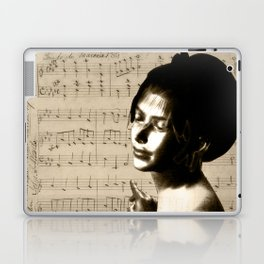 Music Lover National Anthem of New Zealand Laptop & iPad Skin