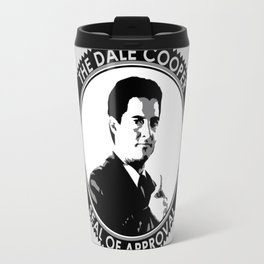 The Dale Cooper Seal of Approval Travel Mug