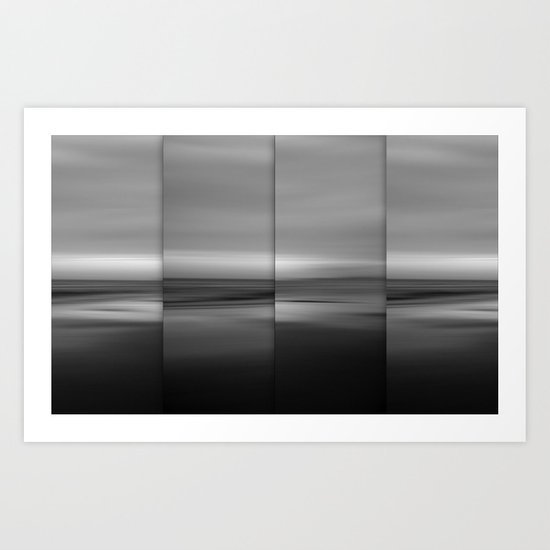 Moontide - Polyptych Art Print