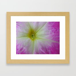 Color Implosion Framed Art Print