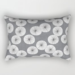 Umbrellas by Friztin Rectangular Pillow