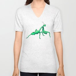 Praying Mantis Unisex V-Neck