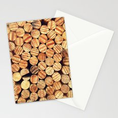 Wooden Circles Stationery Cards