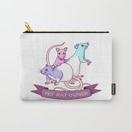 Pet Rat Owner Carry-All Pouch