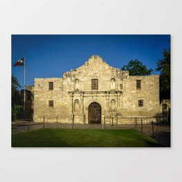 Empty Alamo Canvas Print