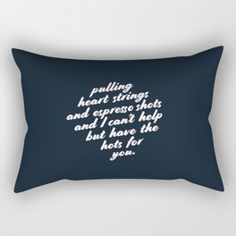 Barista Boyfriend - Heart Strings Rectangular Pillow