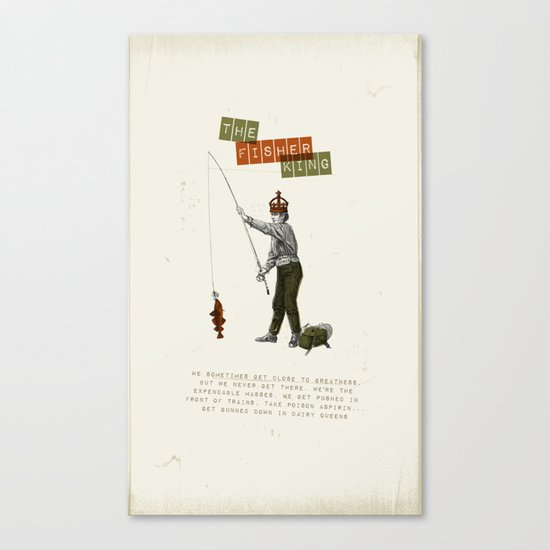 The fisher king Canvas Print