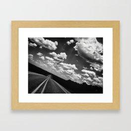 204 | hill country Framed Art Print