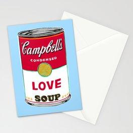 Love Soup Stationery Cards