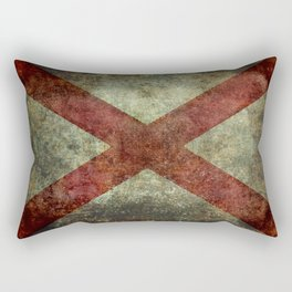 Alabama state flag Rectangular Pillow