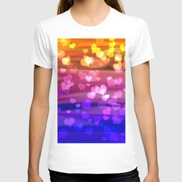 Lovely Hearts, Bokeh T-shirt