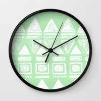 uk Wall Clocks featuring uk by L Step