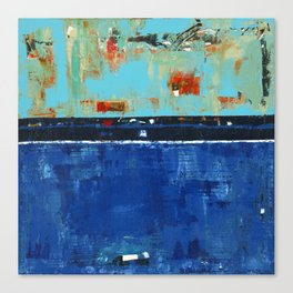 Dress Blues Canvas Print