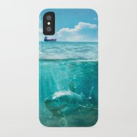 kpop iPhone & iPod Cases featuring Blue by SensualPatterns