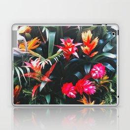 Tropical Floral Garden Laptop & iPad Skin
