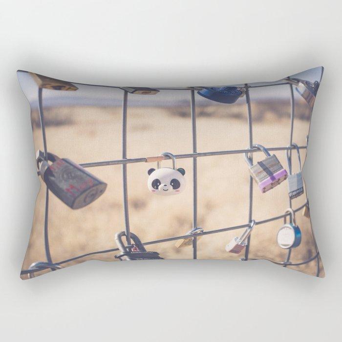 PradaMarfa Love Locks Rectangular Pillow