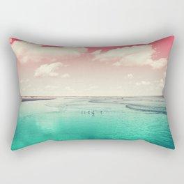 Cumberland birds #watermelon #version by #Bizzartino Rectangular Pillow
