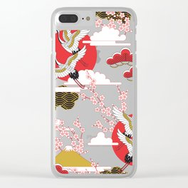 Stork Clear iPhone Case