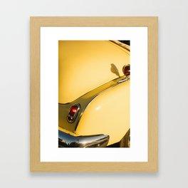 colors of cuban cars Framed Art Print