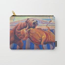 Bear vs Bull Carry-All Pouch