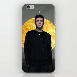 addict with a pen iPhone Skin
