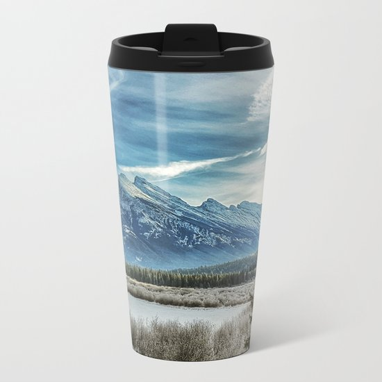Natural Beauty Metal Travel Mug