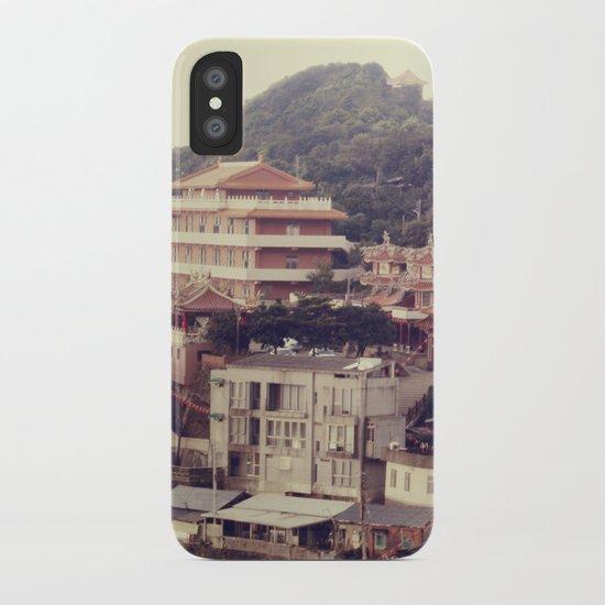 Mountain Town iPhone Case