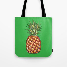 Pineapple, tropical, Hawaii Tote Bag