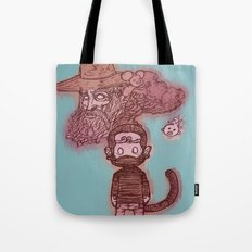 Journey to the what? Tote Bag