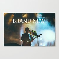 brand new Canvas Prints featuring Brand New by ICANWASHAWAY