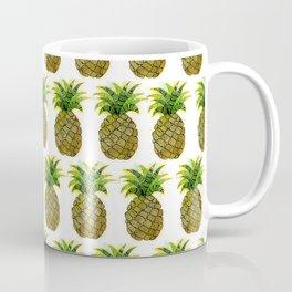Watercolor Pineapple Coffee Mug