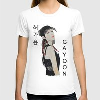 kpop T-shirts featuring C.R.A.Z.Y Gayoon by Ahri Tao