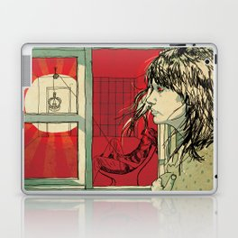 hang this girl Laptop & iPad Skin