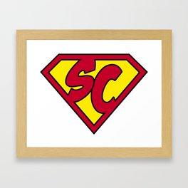 superchildish Framed Art Print