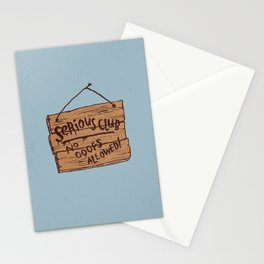 Serious Club Stationery Cards