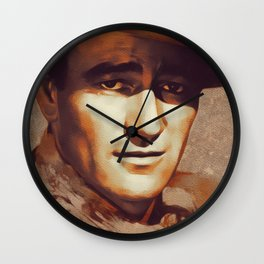 John Wayne, Hollywood Legend Wall Clock