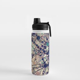 Colorful tree loves you and me. Water Bottle