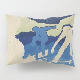 Skateboarding Pillow Sham