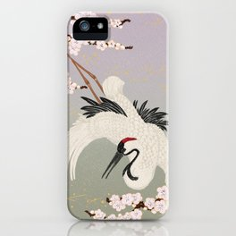 Japanese Crane iPhone Case