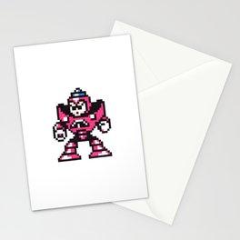 gravity man Stationery Cards