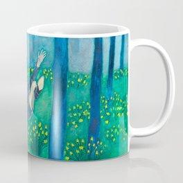 Sometimes it feels like I'm drowning/Forest fall Coffee Mug