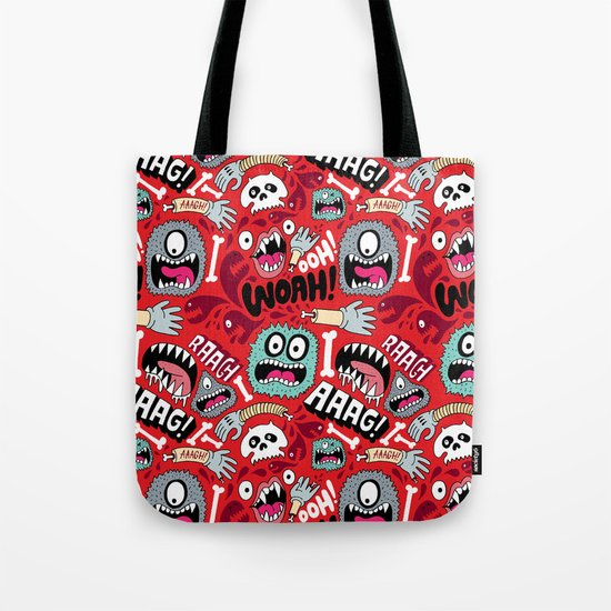 AAAGHHH! PATTERN! Tote Bag