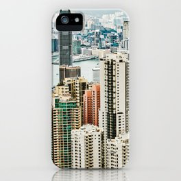 Harbour Section iPhone Case