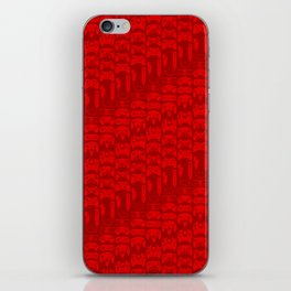 Video Game Controllers - Red iPhone Skin