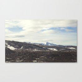 Aspen Mountains Canvas Print
