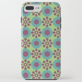 Retro Modern Flower Power iPhone Case