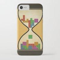 tetris iPhone & iPod Cases featuring tetris by gazonula