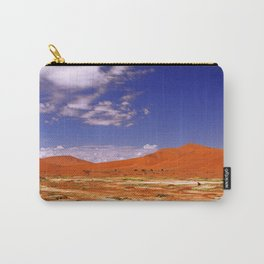 Namib desert with flowers in the rain season, Namibia Carry-All Pouch