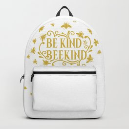 Be Kind to Beekind - Save the Bees Backpack